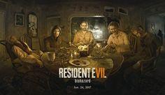 Resident Evil 7 Margeriet, Jack, Lucas, Eveline