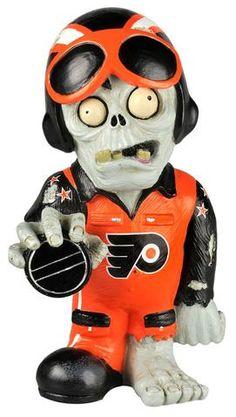Philadelphia Flyers Thematic Zombie Figurine #PhiladelphiaFlyers