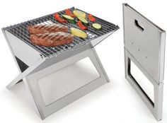 Awesome fold flat #grill, easy to #travel with