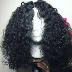 Curly Wig #curlywig #handmade #bstyledhaircollection
