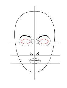 very simple face drawing tutorial Learn Drawing, Drawing Step, Simple Face Drawing, Drawing Lessons, Art Lessons, Painting & Drawing, Jak Kreslit, Teaching Art, Face Art