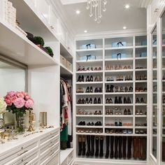 white closet helps u see