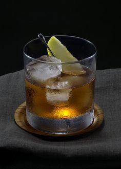 Shoulder Season   Tuxedo no.2   rye, apple brandy, angostura bitters, walnut bitters, maple syrup
