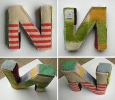 Wollen letters op aanvraag | creativegiftsbyanjabrunt
