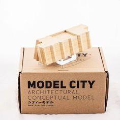 "2 Pieces Left for "" SMITH "" Original Colour & 2 Pieces in Dark Wood Texture. MODEL CITY / MEMORY UNKNOWN by ELEMENTSEDEN. LET's CREATE YOUR OWN UTOPIA. Model City / Architectural Conceptual Model [ シティーモデル _ 建築のコンセプトモデル ] #modelcity #architect #art #design #designobject #tray #house #homedecorative #memory #unknown #architecture #model #inspire #packagingdesign #utopia #architect #create #space #Furniture #Sculpture #architecture #handicraft by elementseden"