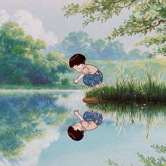 studio ghibli Hayao miyazaki animeYou can find Hayao miyazaki and more on our website. Studio Ghibli Films, Art Studio Ghibli, Studio Ghibli Characters, Studio Ghibli Quotes, Hayao Miyazaki, Totoro, Wallpaper Studio, Wallpaper Desktop, Art 33