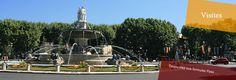 Fontaine de la Rotonde  #www.frenchriviera.com