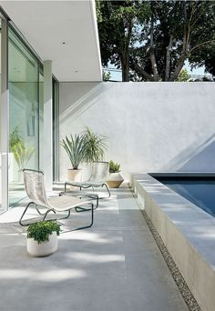 pool montalba architects / the row, los angeles pinned by barefootstyling.com