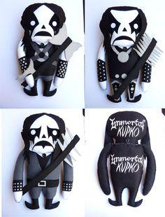 custom Immortal plushes by Kupco