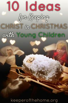 How do you make sure your family is celebrating Christ at Christmas? What Christ-centered activities do your kids love?