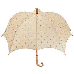 Pom Pom Pumpkin parasol by DiCesare
