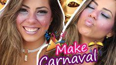 Maquiagem Carnaval 2017 - Sardas Galáticas - YouTube