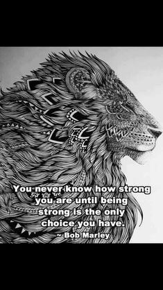 Oh my lord, this quote speaks to my heart so much for my Sam tattoo. The fact that theres a lion behind it makes me so happy too.