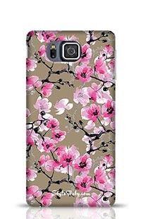 Seamless Pattern Orchid Samsung Galaxy Alpha G850 Phone Case