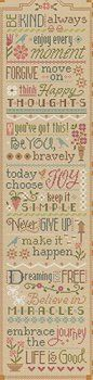 Lizzie Kate Flip-It Series - 3 Little Words - Never Give Up – Stoney Creek Online Store