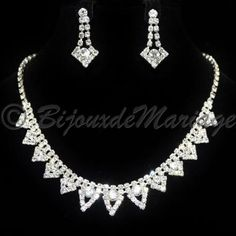 """KYRIELLE"" parure de bijoux mariage"