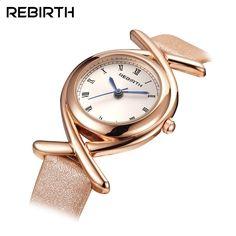 REBIRTH Římské hodinky náramkové hodinky Hodinky dámské hodinky 2017  neformální kožené luxusní hodinky quartz dámské hodinky hodinky hodinky a7135f3b36
