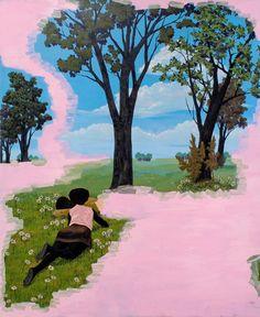 KERRY MARSHALL PAINTINGS | ArtSlant - Kerry James Marshall