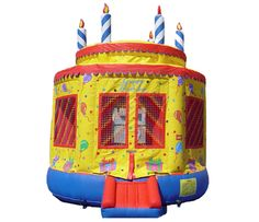 Large Birthday Cake Bouncer