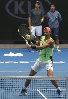 PHOTOS: Rafael Nadal's practice at Australian Open, 13 Jan 2018 - 13 Января 2018 - RAFA NADAL - KING OF TENNIS