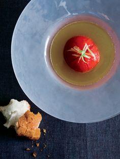 【ELLE a table】焼きトマトのスープ仕立てレシピ|エル・オンライン