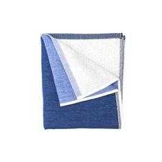Hand Towel - Blue/Dark Blue by Yoshii Towel