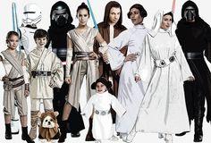 Star Wars Costumes #HalloweenCostumes2016