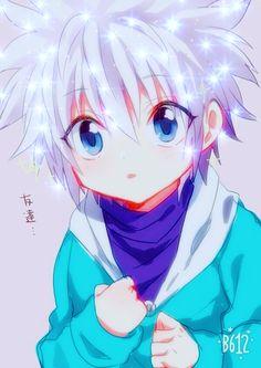 Killua is so freaking adorable