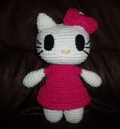Ravelry: Pretty Kitty inspired by Hello kitty pattern by Cheyenne Beeching