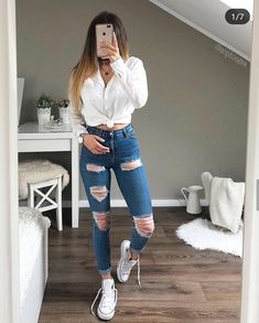 Best Picture For lazy outfits ulzzang For Your Taste You are looking for something, and it is going Cute Lazy Outfits, Casual School Outfits, Teenage Girl Outfits, Teen Fashion Outfits, Edgy Outfits, Look Fashion, Outfits For Teens, Dress Fashion, Mode Bcbg