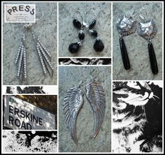 """""""VINTAGE EARRINGS NOW IN @ PRESS!"""" The Perfect Finishing Touch! x"""