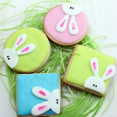 Click Pic for 28 Easter Cookie Recipes - Peeking Bunny - Easy Cookie Recipes for Kids | Easter Treats