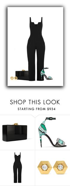 """""""presenting my best self to you darling"""" by paolanoel on Polyvore featuring Edie Parker, Pierre Hardy, Carmen March and Fred Leighton"""