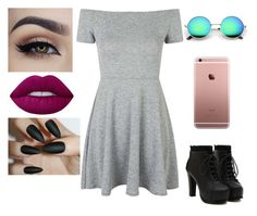 """""""Untitled #117"""" by luisa-raquel on Polyvore featuring Topshop and Lime Crime"""