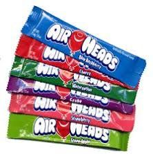 Airheads Taffy is vegan!