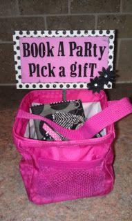 Book a party perk