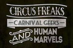 Circus Freaks, Carnival Geeks and Human Marvels Flightless Bird, Inspire Me, Carnival, Novels, Geek Stuff, Marvel, Birds, Inspiration, Geek Things