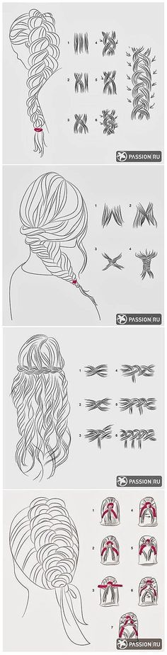 Learn How to Braid Your Hair #QuickBraid #QuickBraidedHairstyle click for info.