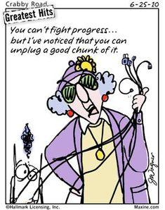 unplug progress