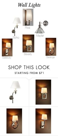 """Wall Lights"" by insideout1 on Polyvore featuring interior, interiors, interior design, home, home decor, interior decorating and WALL"