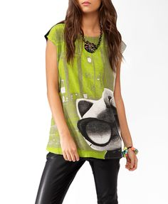 Cool Hello Kitty® Contrast Tunic