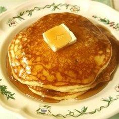 Moms Buttermilk Pancakes - Allrecipes.com