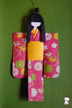 Washi Ningyo  (和紙 人形) o Ane-sama Ningyo