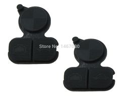 [Visit to Buy] 2pcs 3 Buttons Remote Fob Key Buttons Repair Pad For BMW Series 3 5 7 E38 E39 E36 Z3 Z4 Z8 X3 X5 #Advertisement