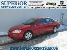 2007 Chevrolet Impala, 69,997 miles, $11,990.