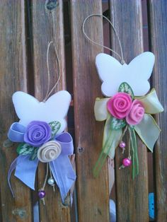 Pendenti farfalle di sapone Arabic Food, Gadget, Home And Garden, Soap, Zipper, Ornaments, Country, Handmade, Handmade Soaps