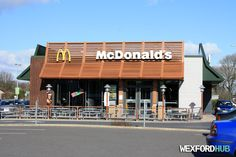 The McDonald's restaurant in Drinagh Retail Park, Wexford. Just South of Wexford. Short road trip if staying in Wexford city. Just off N25 in