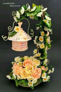 Chale de rosas