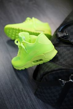 Amp up a pair of boyfriend jeans with these ultra bright lime green ... 9176ec110