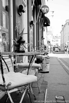 Cafe Flottenheimer - A great lille place for a quick lunch in the sun!